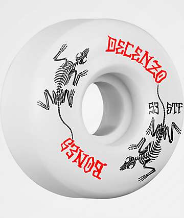 Bones Decenzo Remains V5 53mm Skateboard Wheels