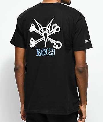 Bones Powell Peralta Rat Bones camiseta negra