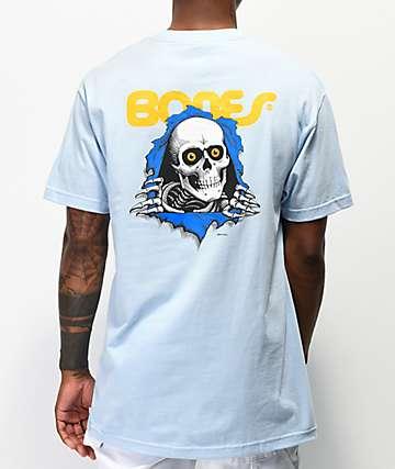 Bones Ripper Baby Blue T-Shirt