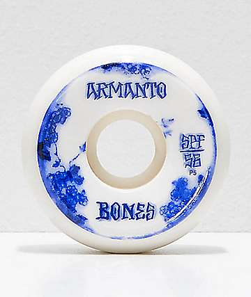 Bones SPF Pro Armanto Blue China 56mm Skateboard Wheels
