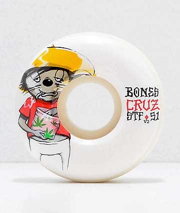 Bones STF Pro Cruz Weedy 51mm ruedas de skate