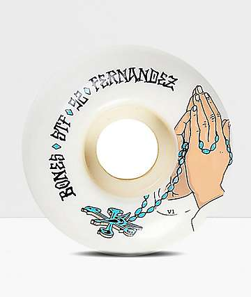Bones STF Pro Fernandez Prayer 52mm Skateboard Wheels