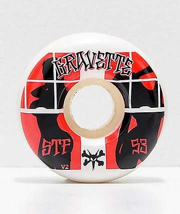 Bones STF Pro Gravette Peeps 53mm Skateboard Wheels