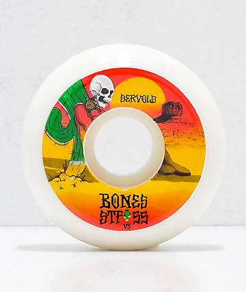 Bones STF Pro Servold Dry Heat 55mm Skateboard Wheels