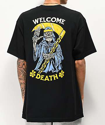 Boss Dog Welcome Death Black T-Shirt