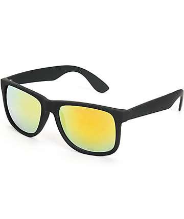 Bravo gafas de sol revo con tacto de goma