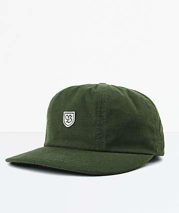 Brixton B-Shield III Leaf Strapback Hat