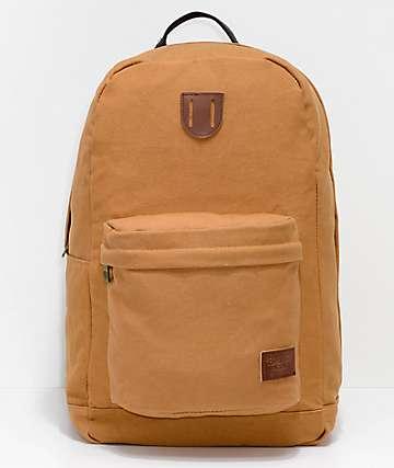 Brixton Basin Basic 25L mochila de color cobre