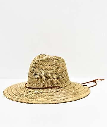 Brixton Bells Fedora Straw Hat