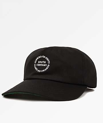 Brixton Bound Black Snapback Hat