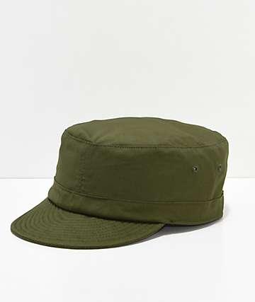 Brixton Brigade gorra verde militar
