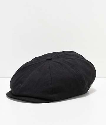 Brixton Brood Black Snap Hat