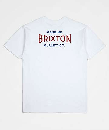 Brixton Cinema White T-Shirt