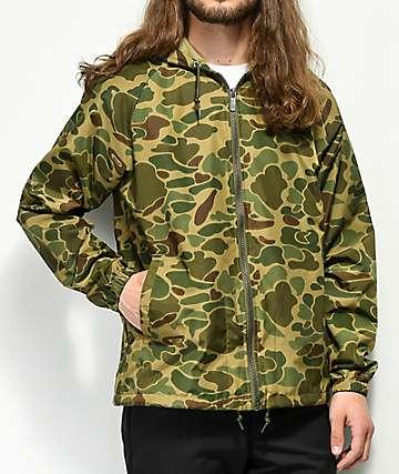 Brixton Claxton Camo Jacket