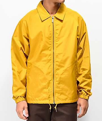 Brixton Claxton Gold Coaches Jacket
