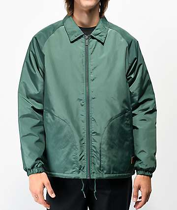 Brixton Claxton Green Sherpa Coaches Jacket