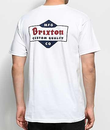 Brixton Crowich camiseta blanca