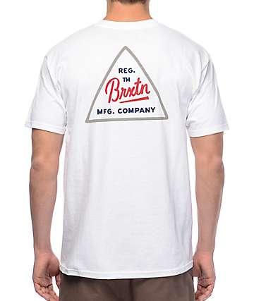 Brixton Cue camiseta blanca