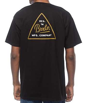 Brixton Cue camiseta negra