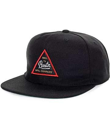 Brixton Cue gorra snapback en negro
