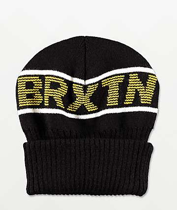 Brixton Dimension Black Beanie