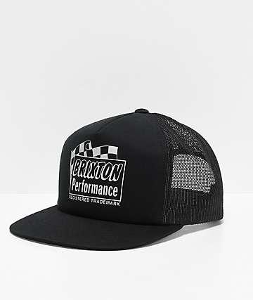 Brixton Fontana Black Mesh Snapback Hat
