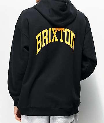 Brixton Forte V Black Hoodie