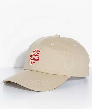 Brixton Good Times Stone Strapback Hat