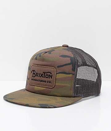 Brixton Grade Camo Trucker Hat