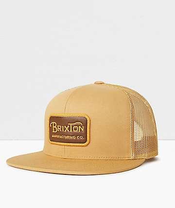 Brixton Grade Copper & Brown Trucker Hat
