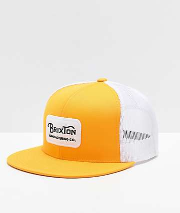 competitive price aa617 f51a4 Brixton Grade Mesh Nugget Gold Trucker Hat