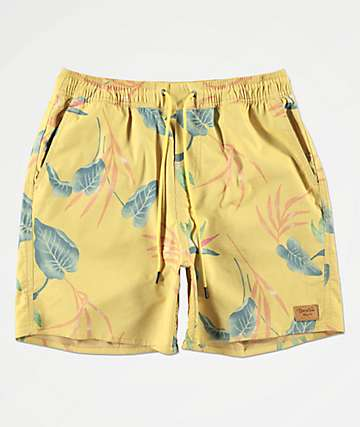 Brixton Havana Yellow Board Shorts