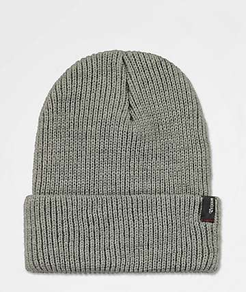 752a81f0b1a Brixton Heist Light Heather Grey Beanie