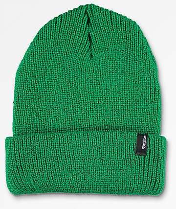 Brixton Heist gorro doblado en verde