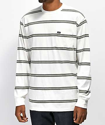 Brixton Hilt Pine Long Sleeve Pocket T-Shirt