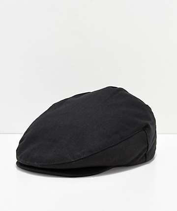 Brixton Hooligan Black Snap Hat