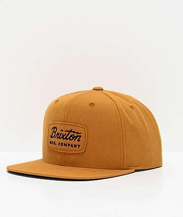Brixton Jolt Maize Snapback Hat