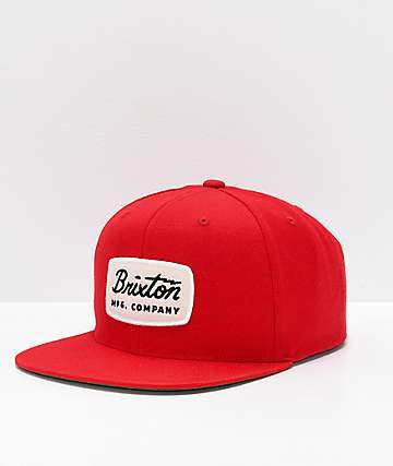 f75bb72dd19 Obey Original Black And Red SnapBack Hat