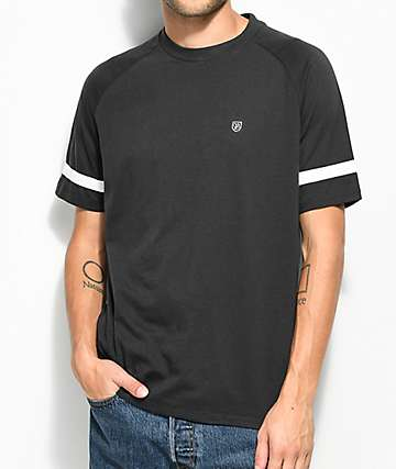 Brixton Malden Black T-Shirt