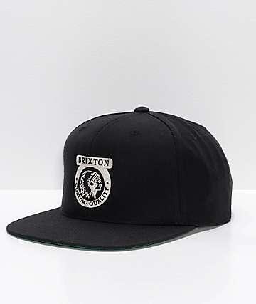 Brixton Native II gorra negra