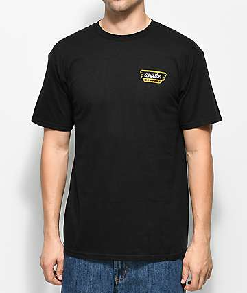 Brixton Normandie Black T-Shirt