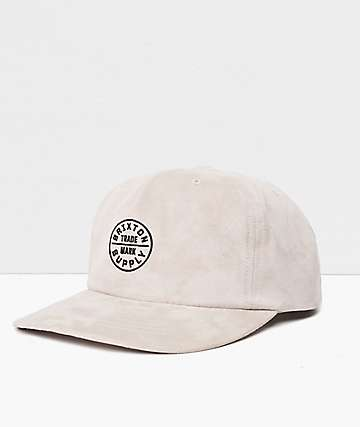 Brixton Oath MP Vanilla Snapback Hat