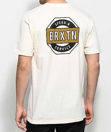 Brixton Octaine camiseta en color crema