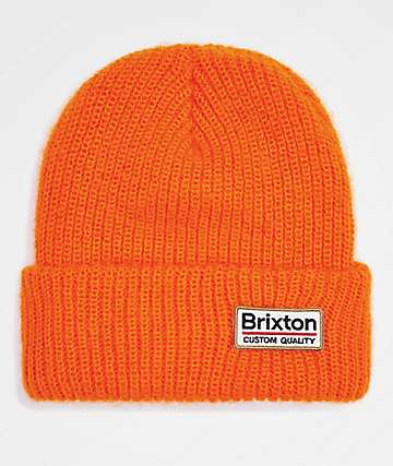 Brixton Palmer II Athletic Orange Beanie