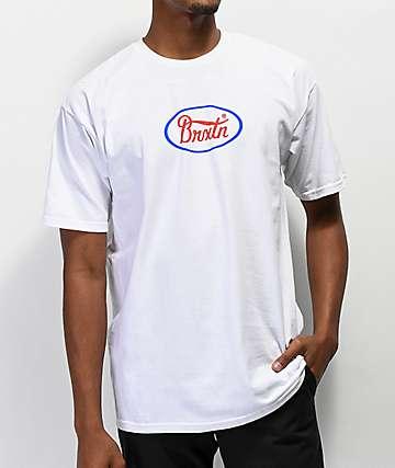 Brixton Parsons White T-Shirt