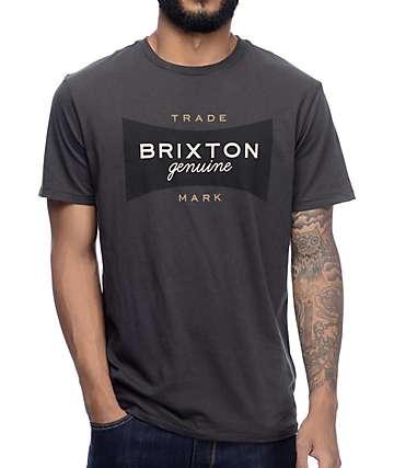 Brixton Ramsey Washed Black Premium T-Shirt