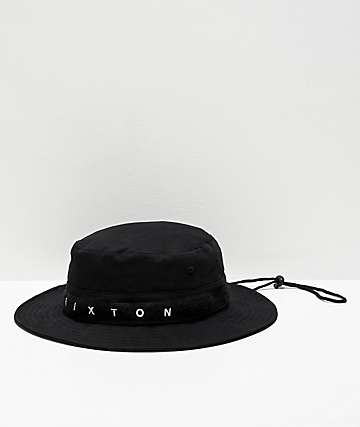 Brixton Ration III Black Bucket Hat