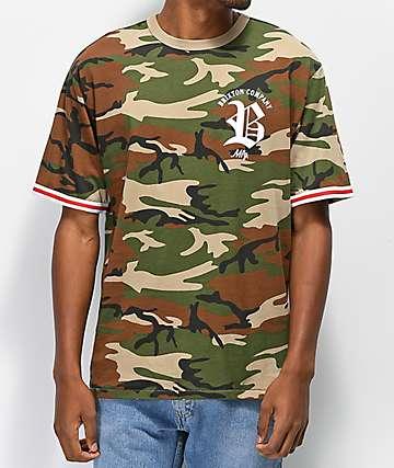 Brixton Rawson Knit Camo T-shirt