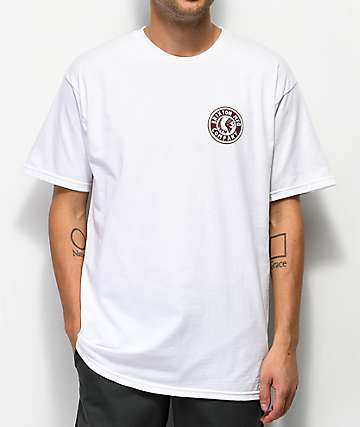 Brixton Rival II White T-Shirt