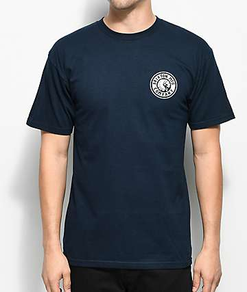 Brixton Rival II camiseta en azul marino